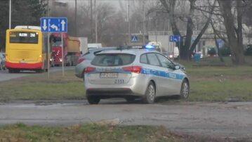 Pościg i strzały w Warszawie. Policja zatrzymała dwie osoby