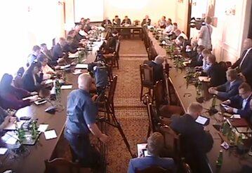 Posiedzenie komisji obrony narodowej