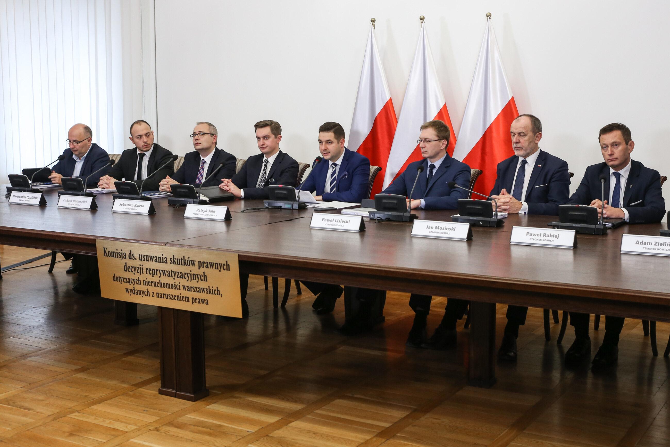 Posiedzenie komisji weryfikacyjnej ds. reprywatyzacji
