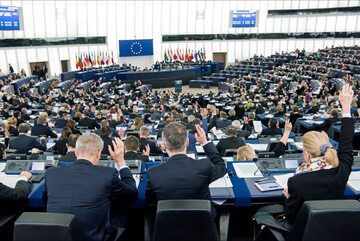 Posiedzenie Parlamentu Europejskiego