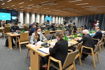 Posiedzenie sejmowej komisji sprawiedliwości