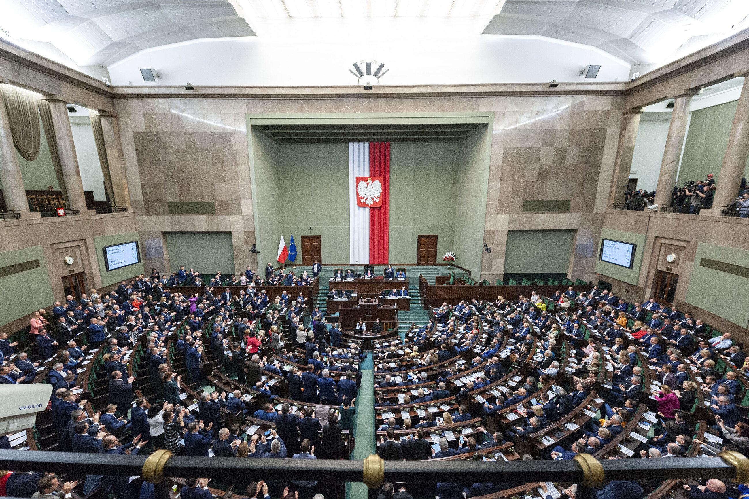 Posiedzenie Sejmu, zdj. ilustracyjne