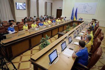 Posiedzenie ukraińskiego rządu