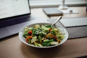 Posiłek w pracy