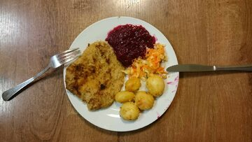 Posiłki przygotowywane dla polskich żołnierzy