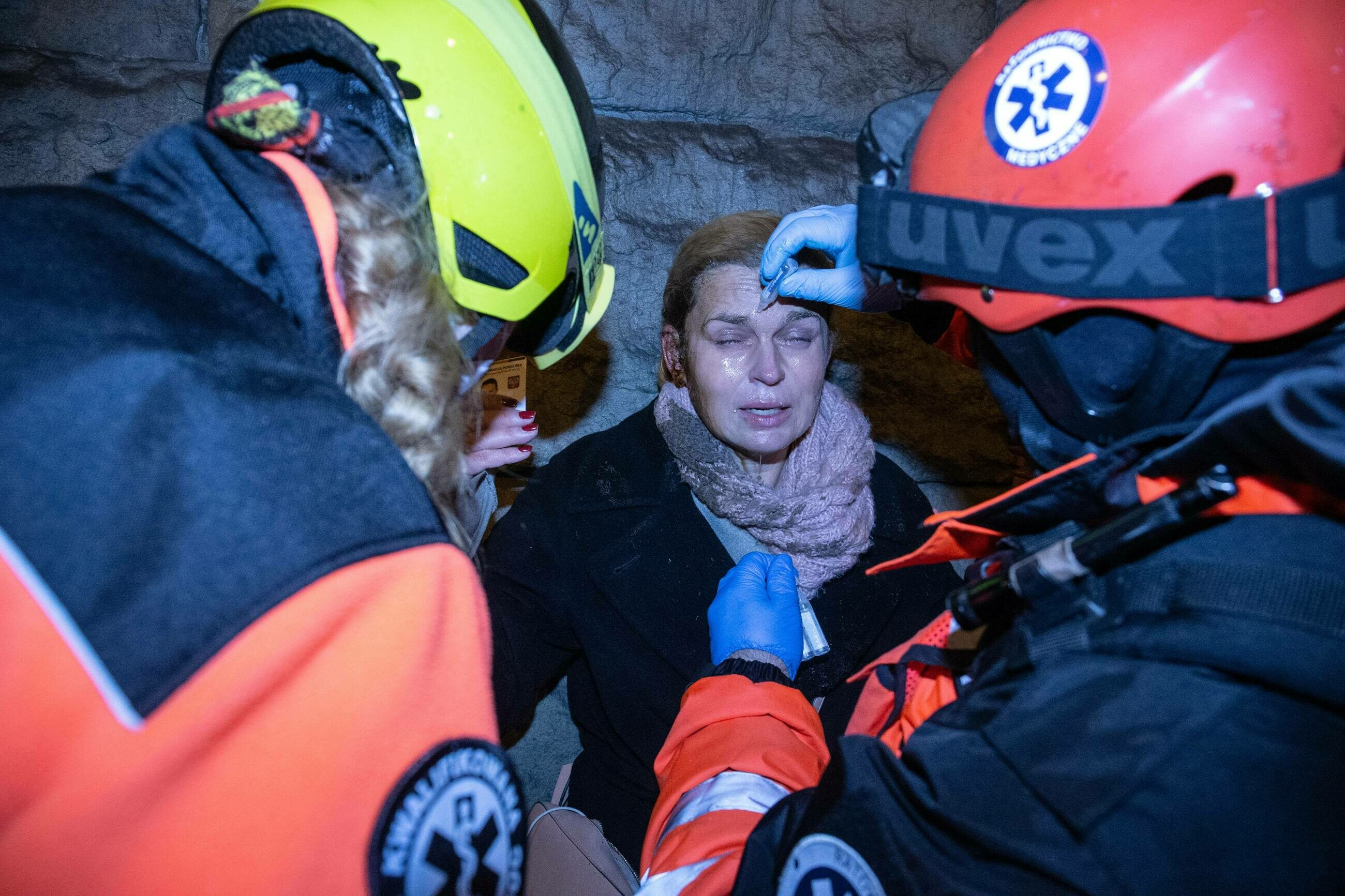 Posłanka Barbara Nowacka została spryskana gazem w oczy