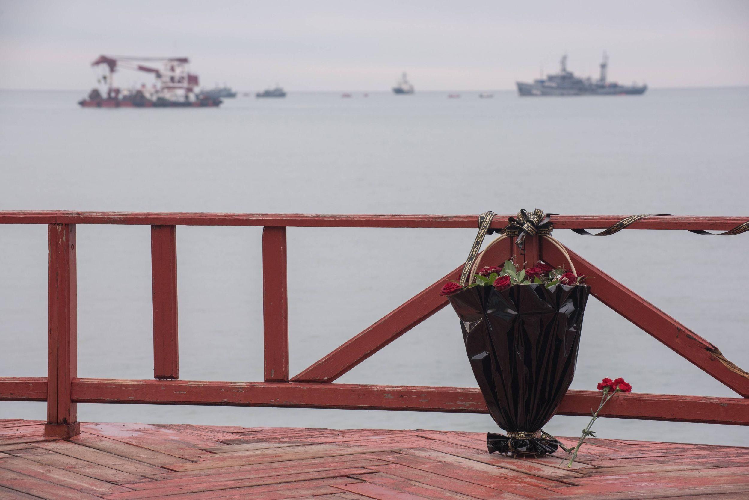 Poszukiwania szczątków ofiar i fragmentów Tu-154 w Morzu Czarnym