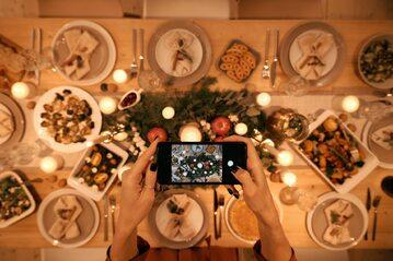 Potrawy na stole