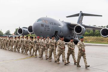 Powrót polskich żołnierzy po decyzji o całkowitym wycofaniu polskich żołnierzy z Afganistanu