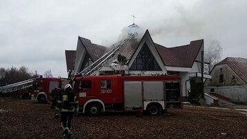 Pożar kościoła w Nowosolnej