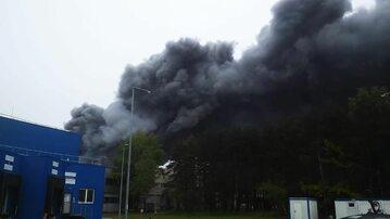 Pożar na terenie Elektrowni Bełchatów