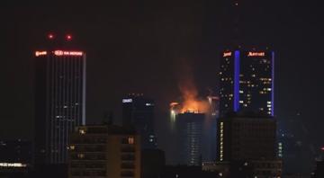 Pożar The Warsaw Hub