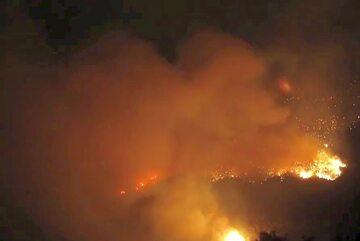 Pożar w Czarnogórze
