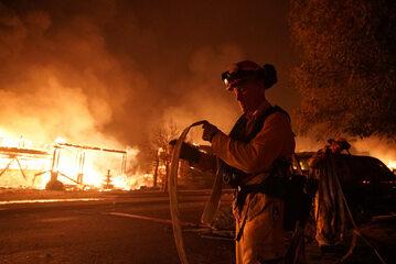 Pożar w Kaliforni