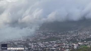Pożar w Kapsztadzie