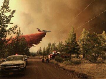 Pożar w Oregonie