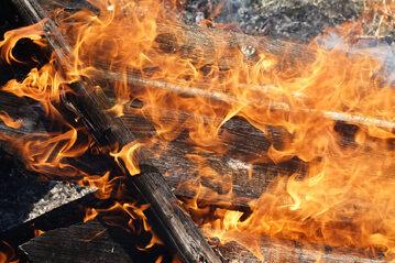 Pożar, zdj. ilustracyjne