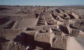 Pozostałości prekolumbijskiego miasta Paquimé