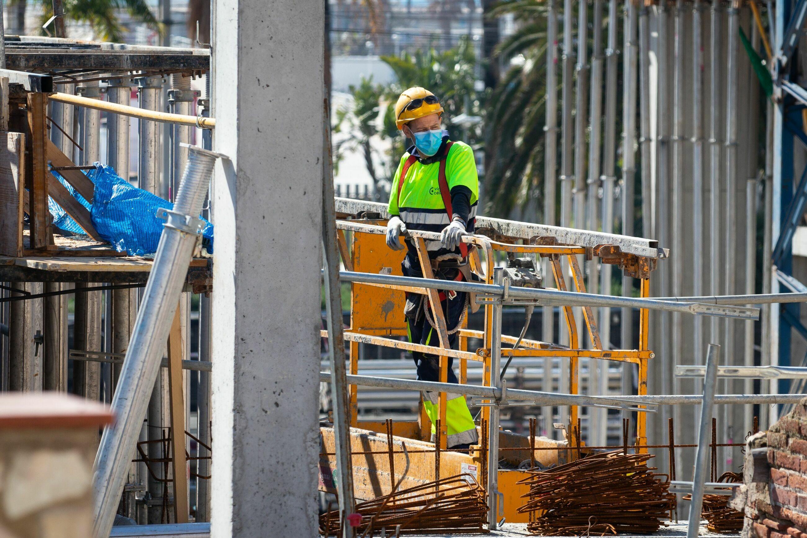 Praca na budowie, zdjęcie ilustracyjne