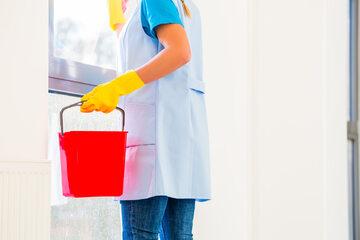 Praca, sprzątaczka