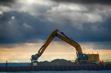 Prace na budowie gazociągu Nord Stream 2
