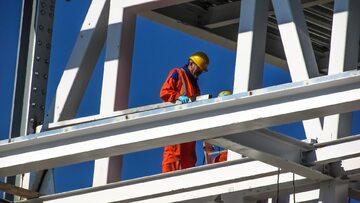 Pracownicy budowy