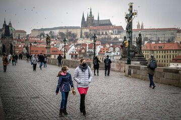 Praga w trakcie pandemii koronawirusa