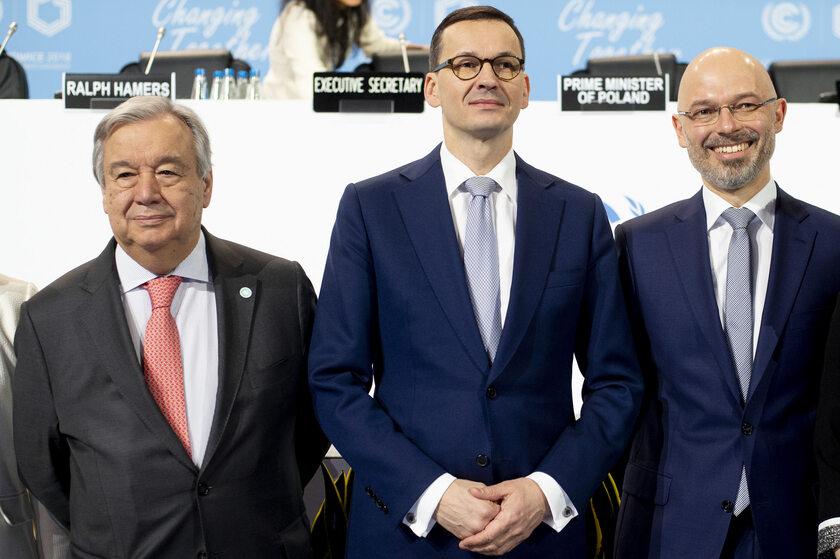 Premier Morawiecki na COP24
