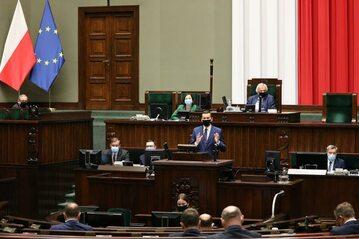 Premier Morawiecki w Sejmie
