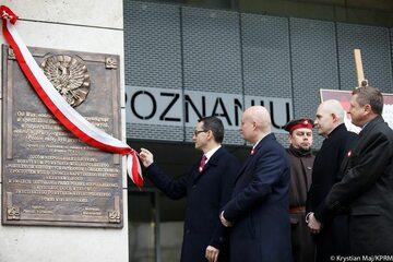 Premier podczas obchodów 100. rocznicy wybuchu Powstania Wielkopolskiego