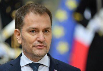 Premier Słowacji Igor Matovicz