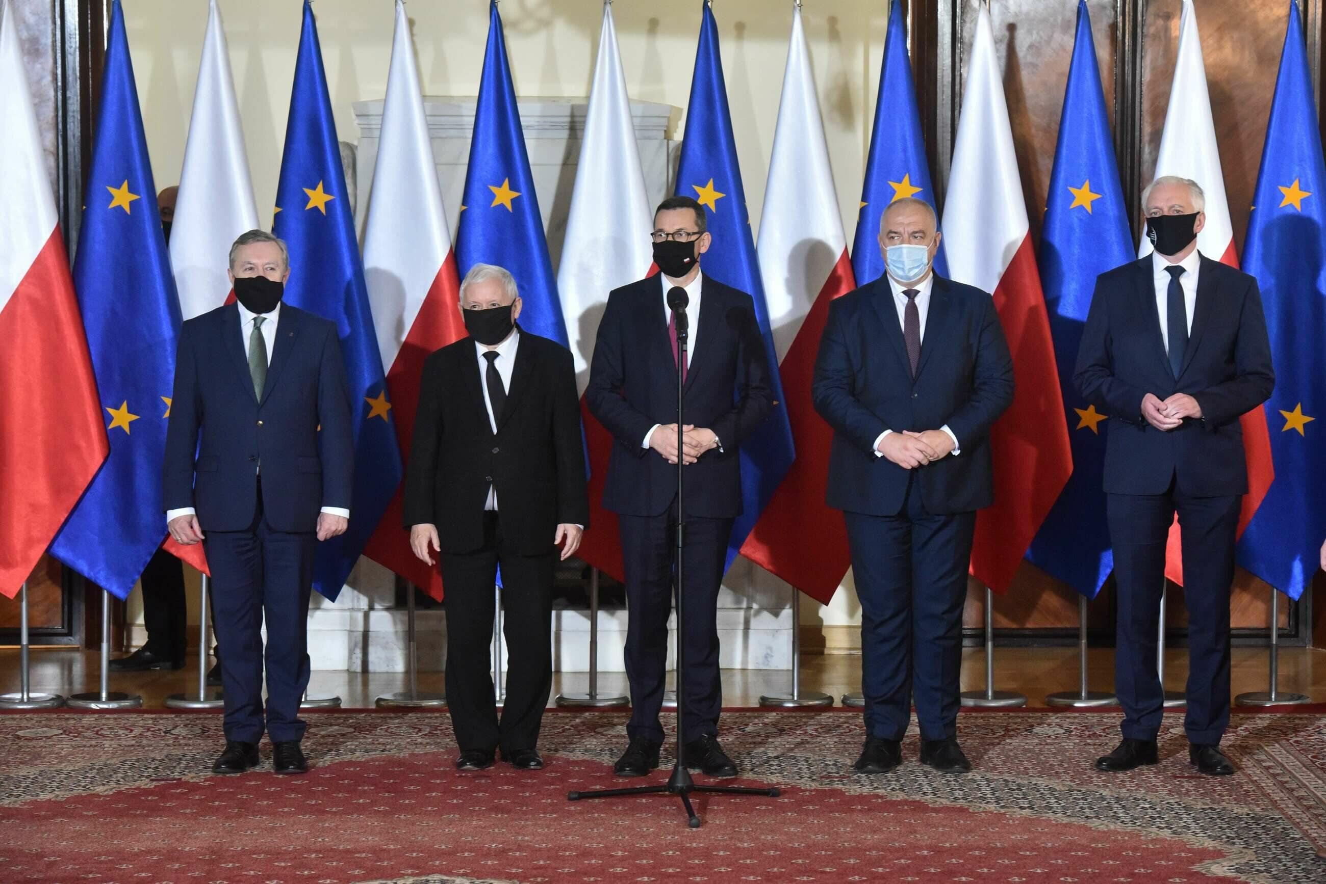 Prezentacja nowego składu Rady Ministrów
