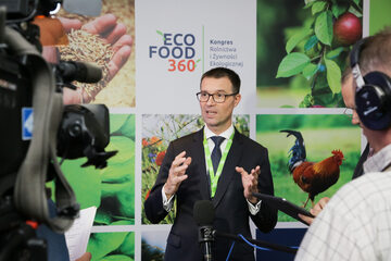 Prezes Carrefour Polska Christophe Rabatel