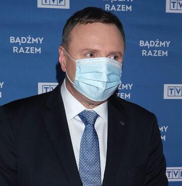 Prezes TVP Jacek Kurski