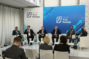 Prezesem Zarządu PKP S.A. Krzysztof Mamiński podczas Forum Wizja Rozwoju