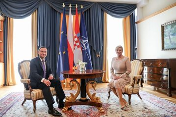 Prezydenci Polski oraz Chorwacji