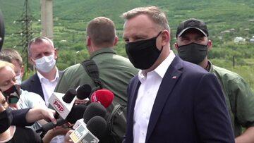 Prezydent Andrzej Duda w Gruzji