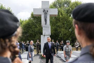 Prezydent oddał hołd ofiarom rzezi wołyńskiej