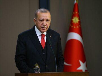 Prezydent Turcji Recep Tayyip Erdoğan