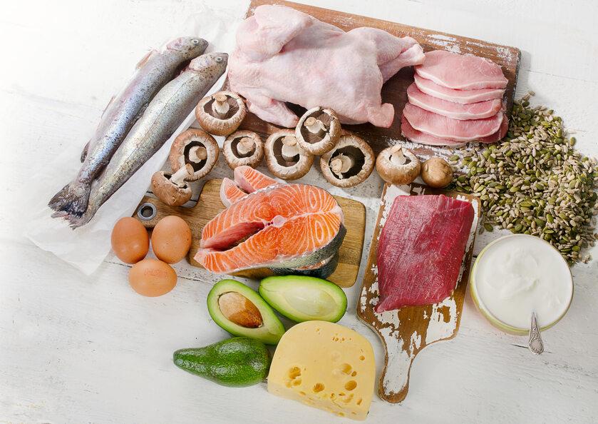 Produkty spożywcze bogate w witaminę B5
