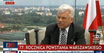 Prof. Wiesław Wysocki w TVP Info