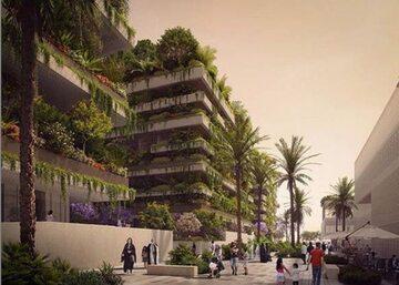 Projekt apartamentowców w nowej stolicy Egiptu