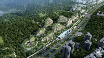 """Projekt """"leśnego miasta"""" Liuzhou"""