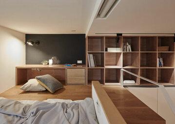 Projekt mieszkania autorstwa studia Little Design