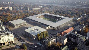 Projekt stadionu Polonii Warszawa