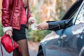 Prostytutka, zdjęcie ilustracyjne