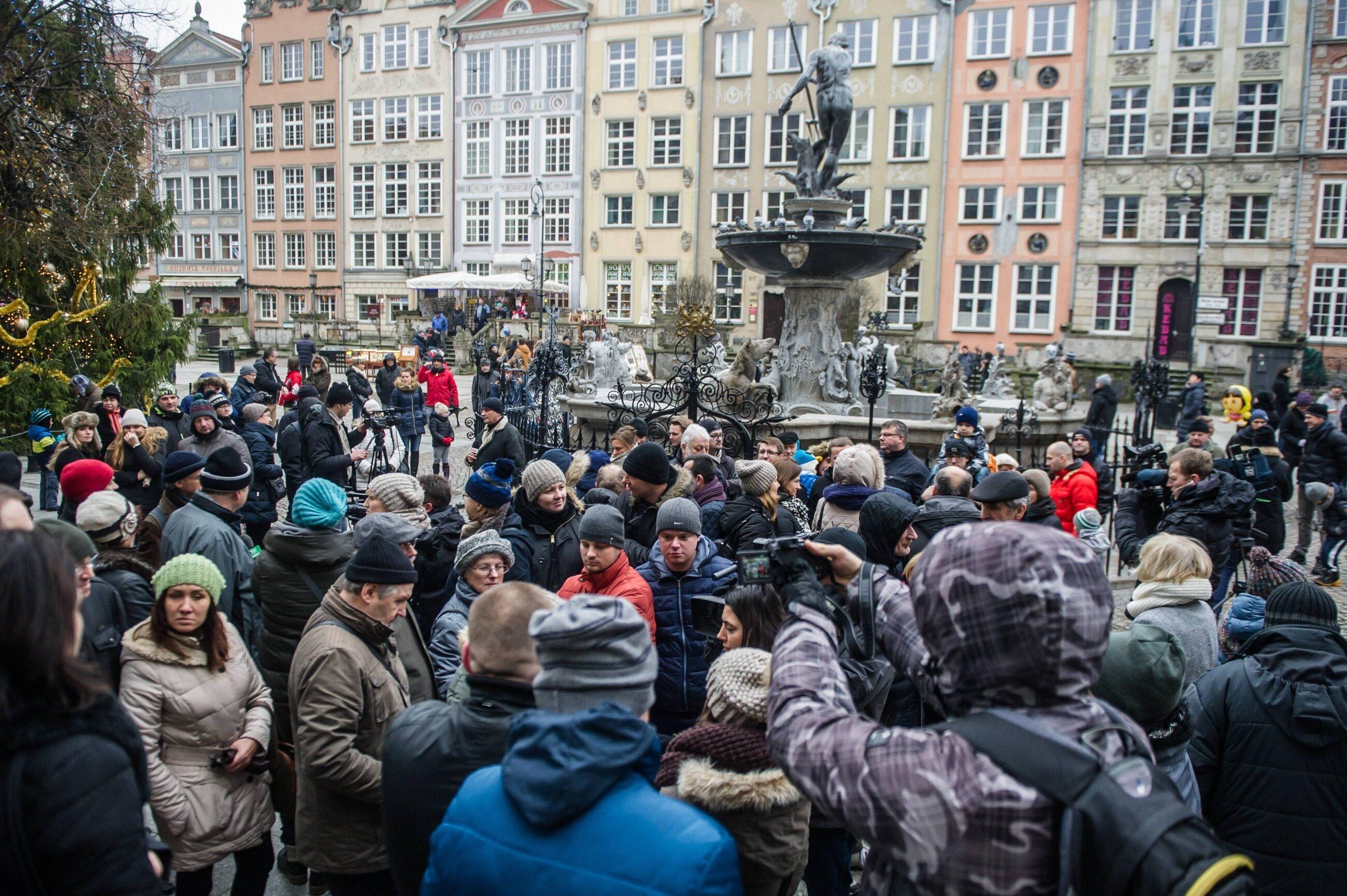 """Protest """"frankowiczów"""" w Gdańsku w 2015 roku - zdjęcie ilustracyjne"""