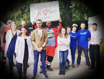 Protest Medyków 2021