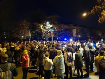 Protest na ul. Sokratesa