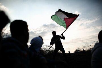 Protest Palestyńczyków